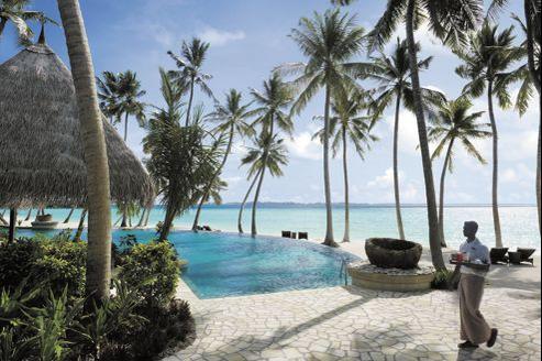 L'hôtel Shangri-La aux Maldives. (Shangri-La)