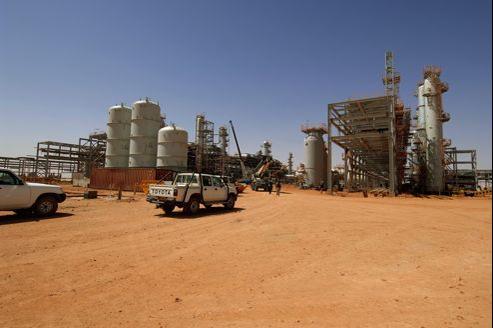 Le site Sonatrach-BP-Statoil de Tinguentourine (Algérie), où de nombreux Occidentaux ont été pris en otages par un groupe islamiste.
