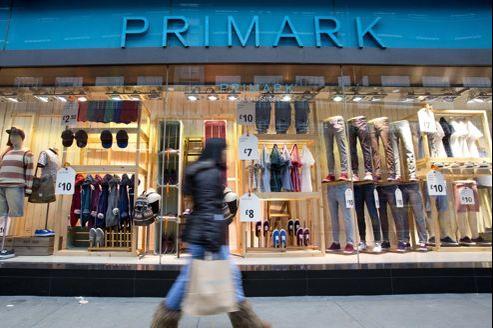 Une boutique Primark à Londres.
