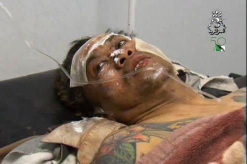 Image diffusée vendredi par la télévision algérienne d'un otage étranger blessé dans sa fuite à In Amenas