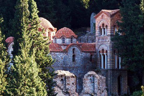Le monastère de Mystra, Laconie, Grèce.