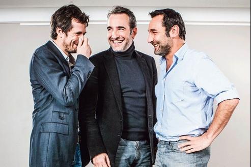 Guillaume Canet, Jean Dujardin et Gilles Lellouche passent du cinéma au petit écran.