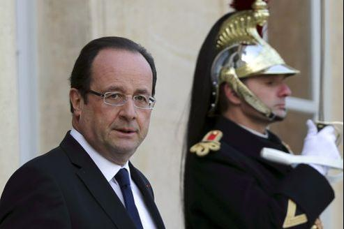 François Hollande jeudi à l'Élysée.