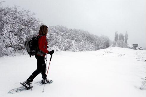 La neige est également tombée sur la Corse.