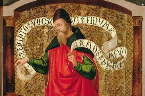 The Prophet Amos 1535 (huile sur toile) Museo Catedralicio.