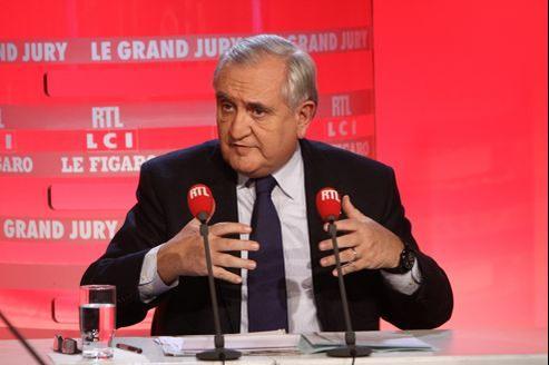 Jean-Pierre Raffarin, dimanche, au «Grand Jury RTL-LCI-Le Figaro».
