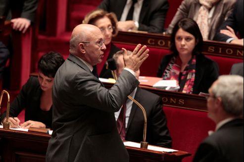 «Nous avons beaucoup semé en attendant de voir les premiers résultats» a rappelé Michel Sapin, ministre du Travail (ici, en novembre à l'Assemblée).