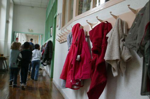 École primaire à Paris.