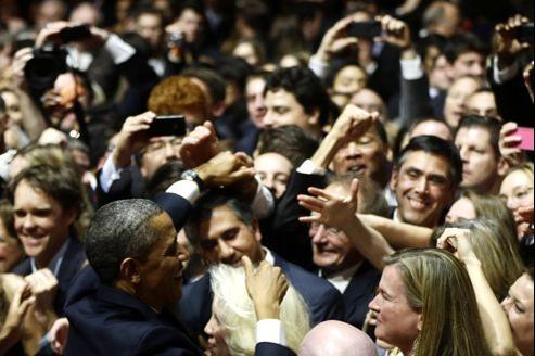 La foule est au rendez-vous pour la cérémonie d'investiture du président, un des rituels les plus importants et les plus symboliques de la démocratie américaine.
