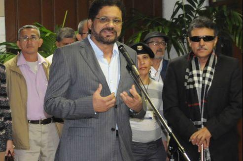 Ivan Marquez, numéro deux des Farc, dimanche, à La Havane.