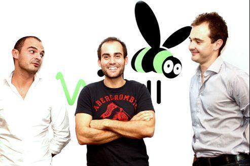 Benjamin Ducousso, Emeric et Romain Gentil ont créé, en 2011, Wizbii, un réseau social professionnel pour les étudiants et les jeunes diplômés.
