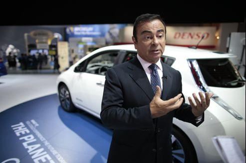 Carlos Ghosn, PDG de l'alliance Renault-Nissan.