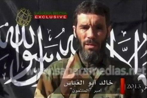 Capture d'une vidéo non datée de Mokhtar Belmokhtar.
