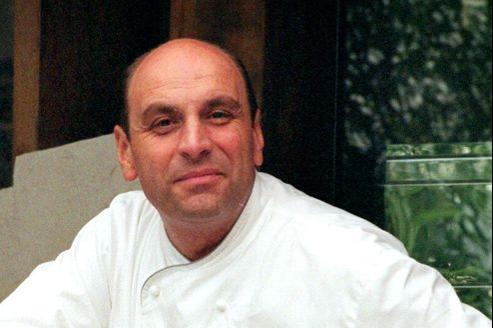 Bernard Loiseau en 1998 dans son restaurant «La Côte d'Or», à Saulieu.