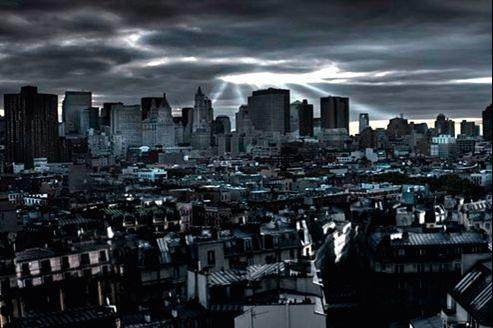 La photo de couverture du roman Paris en 2040.