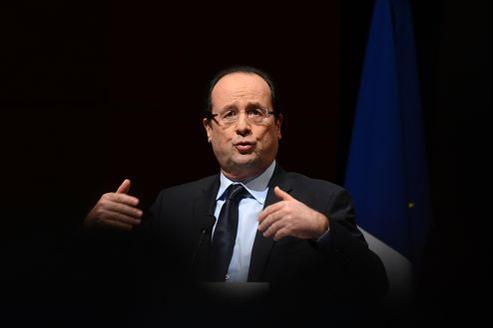 Le président François Hollande, ce mercredi à Grenoble.