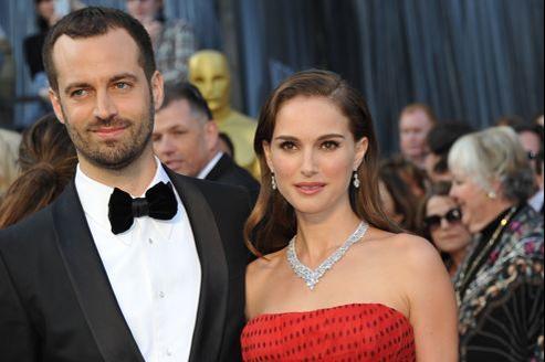 Le nouveau maître de Ballet de l'Opéra de Paris avec son épouse, l'actrice israélo-américaine Nathalie Portman.