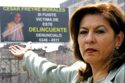 «Il n'y a pas de justice, ce qu'il y a c'est du pouvoir et de l'argent pour acheter des campagnes dans les médias et faire passer une preneuse d'otages pour innocente», s'indigne Isabel Miranda de Wallace, de l'association Alto al Secuestro, opposée à la libération de la Française.