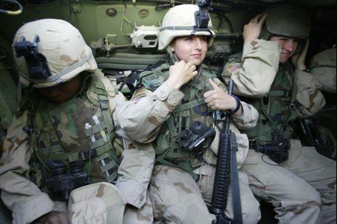 Les femmes représentent 12% des effectifs de l'armée.