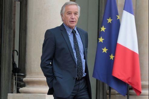 François Rebsamen, président du groupe PS du Sénat, à Paris, en novembre 2012.