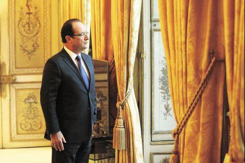 François Hollande, en septembre 2012 à l'Élysée.