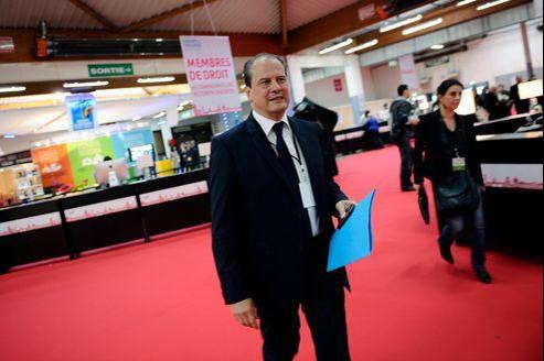 Jean-Christophe Cambadélis dans les couloirs du congrès du PS, à Toulouse.
