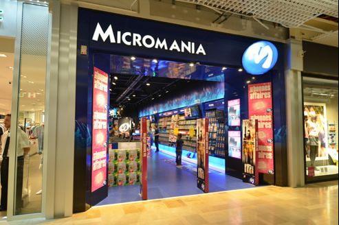 Un magasin Micromania.