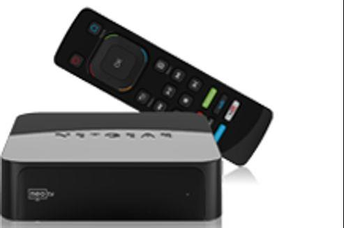 Les offres de boîtiers permettant de connecter sa télé arrivent en masse sur le marché français. Crédit: Netgear