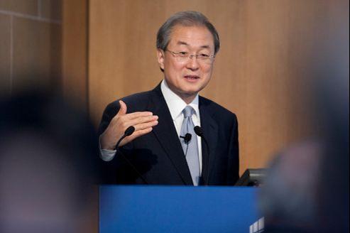 Le sud-coréen Taeho Bark est un des neufs candidats à la succession de Pascal Lamy.