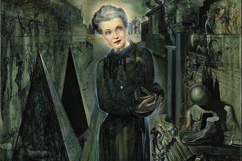 Salvador Dali, Portrait de Madame Harrison Williams (1943), vendu chez Sotheby's à Londres le 5 février. Estimation: 1,5 à 2 millions d'euros.
