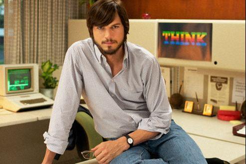 Ashton Kutcher dans jOBS, présenté en avant-première à Sundance.