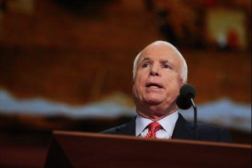 Le républicain John McCain.