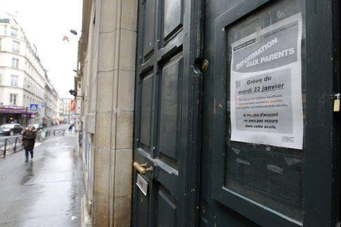 Après la grève de mardi dernier, un nouvel appel intersyndical à la grève a été lancé pour jeudi dans les écoles primaires et maternelles de Paris, à l'occasion de la «journée mondiale pour le travail décent».