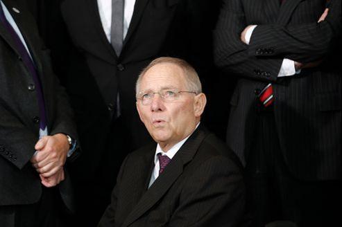 Wolfgang Schäuble, le ministre allemand des Finances, ne veut pas marchander un plan de sauvetage avec l'opposition qu'il affrontera aux législatives cet automne.