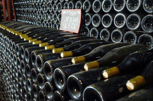 Un Vosne-Romanée Cros Parantoux, la bouteille la plus chère a été adjugée à 4800 euros. Jean-Christophe MARMARA / Le Figaro