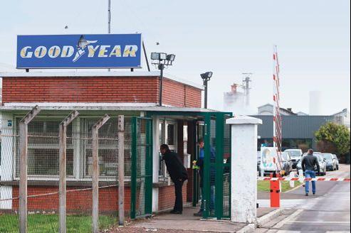 L'usine Goodyear d'Amiens-Nord.