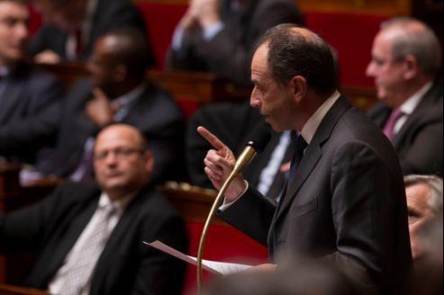 Jean-François Copé, le 30 janvier dernier à l'Assemblée.