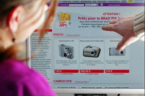 De promotions en ventes flash, les prix changent d'une minute à l'autre sur Internet et certains consommateurs se sentent perdus. Crédit photo: Paul DELORT / Le Figaro.
