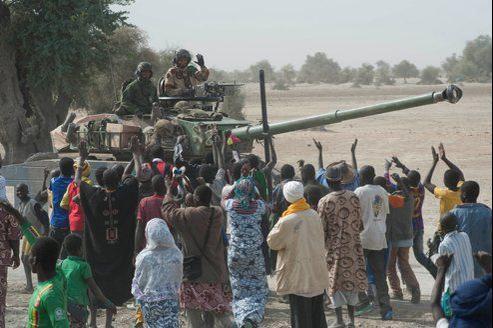 En moins de 48heures, les soldats français de l'opération «Serval», en coordination avec les forces maliennes et des unités africaines, ont repris le contrôle de la boucle du Niger, de Gao à Tombouctou.