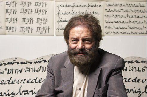 Marek Halter, écrivain juif français, né en Pologne.