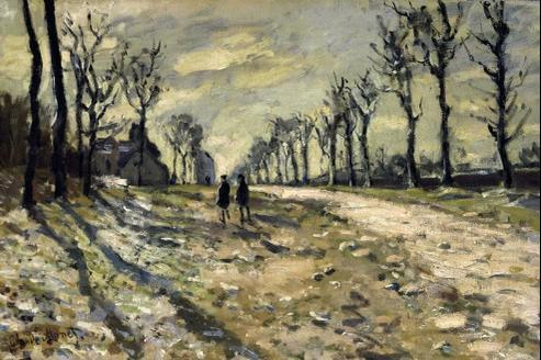 Neige au soleil couchant, de Claude Monet. Ce tableau est en dépôt au Musée des Beaux-Arts de Rouen. Il est enregistré sous le sigle MNR 1002 et aurait été vendu par monsieur Silberberg, mort en déportation.