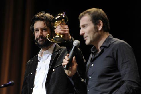 Abel Lanzac a révélé son véritable nom, Antonin Baudry, lors de la 40e cérémonie de remise des prix à Angoulême.