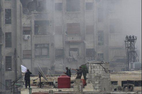 Les combats les plus violents se sont déroulés à Jobar.