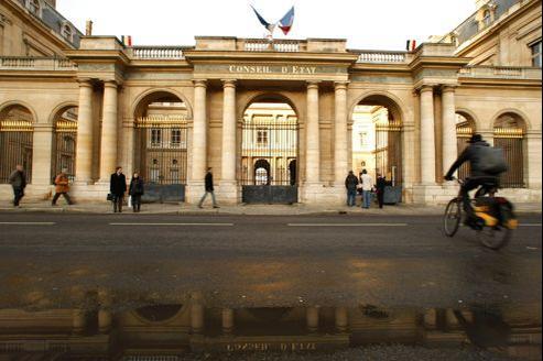 La façade du Conseil d'État, place du Palais-Royal, à Paris.