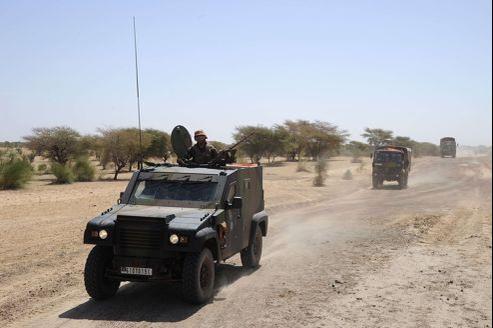 Troupes françaises au Mali (crédit photo: AFP, Pascal Guyot).