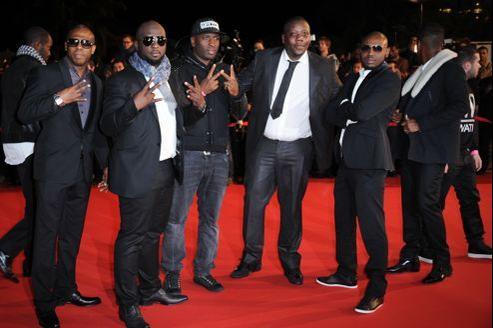 Les membres de Sexion d'Assaut aux NRJ Music Awards.