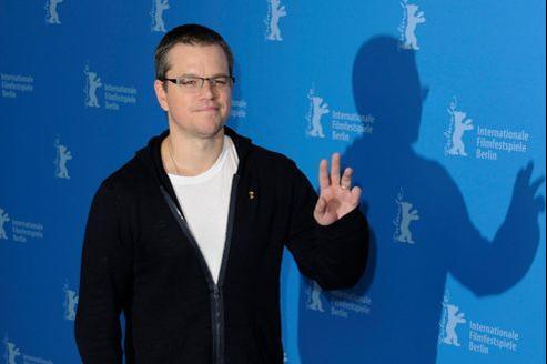 Matt Damon à la présentation de Promised Land au festival de Berlin, le 8 février 2013.