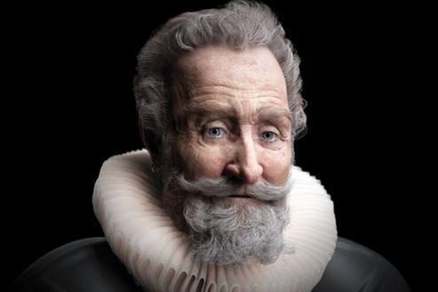 Reconstitution faciale en 3D, à partir de données anthropologiques et médicolégales du visage du bon roi Henri, assassiné le 14 mai 1610.