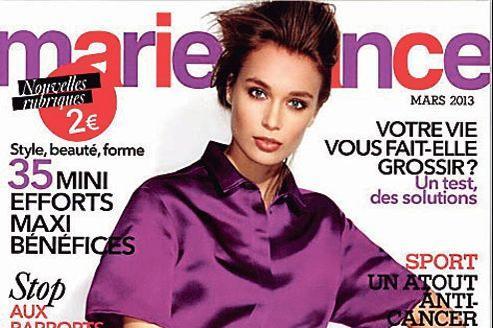 La Une de Marie France.
