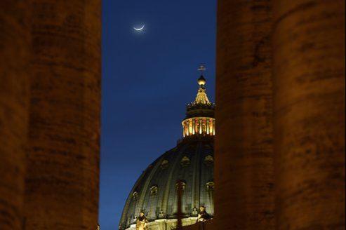 La coupole de la Basilique Saint-Pierre au Vatican.